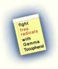 Fight Free Radicals with Gamma Tocopherol