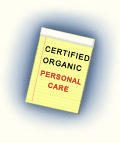 Certified Organic Personal Care